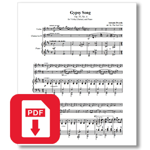 Dvorak Gypsy Song