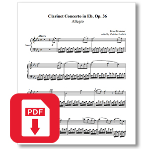 Krommer Clarinet Concerto