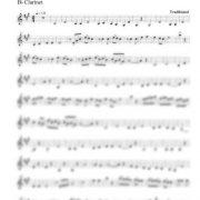 Bulgar from Kishinev clarinet part