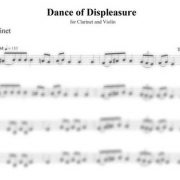 Dance of Displeasure clarinet part