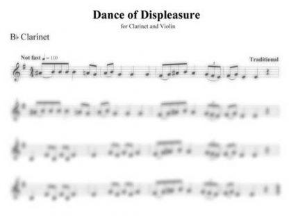Dance of Displeasure clarinet part