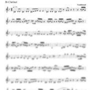 Freylechs from Bukovina clarinet part