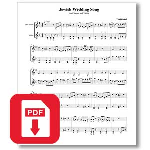 Jewish Wedding Song
