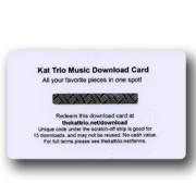 Kat Trio Digital Download Card Back Side